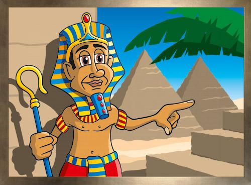 Pharaos Way mit Rahmen
