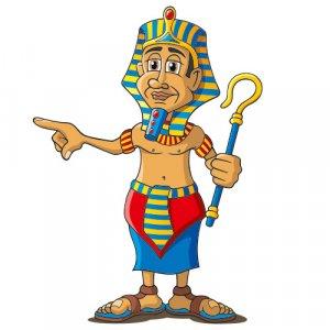 Pharao Figur