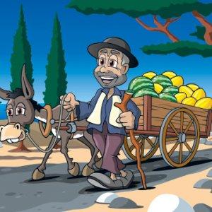 Melonenhändler