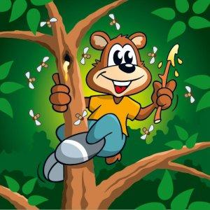 Jäger und Sammler Honigbär