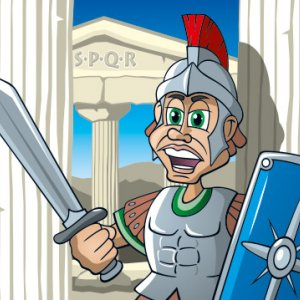 SPQR History Cartoon