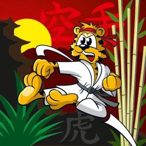 Serie tierisch sportlich - Karate Tiger