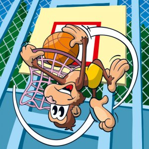 Serie tierisch sportlich - Monkey Dunk