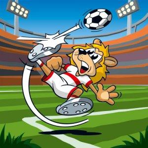 Serie tierisch sportlich - Soccer Lion