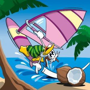 Serie tierisch sportlich - Surfing Duck
