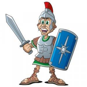 Römer Cartoon