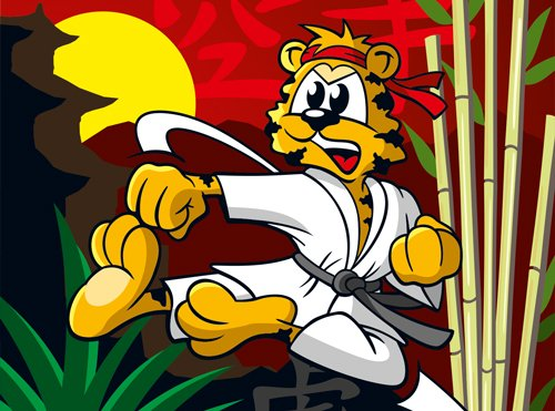 Karate-Tiger
